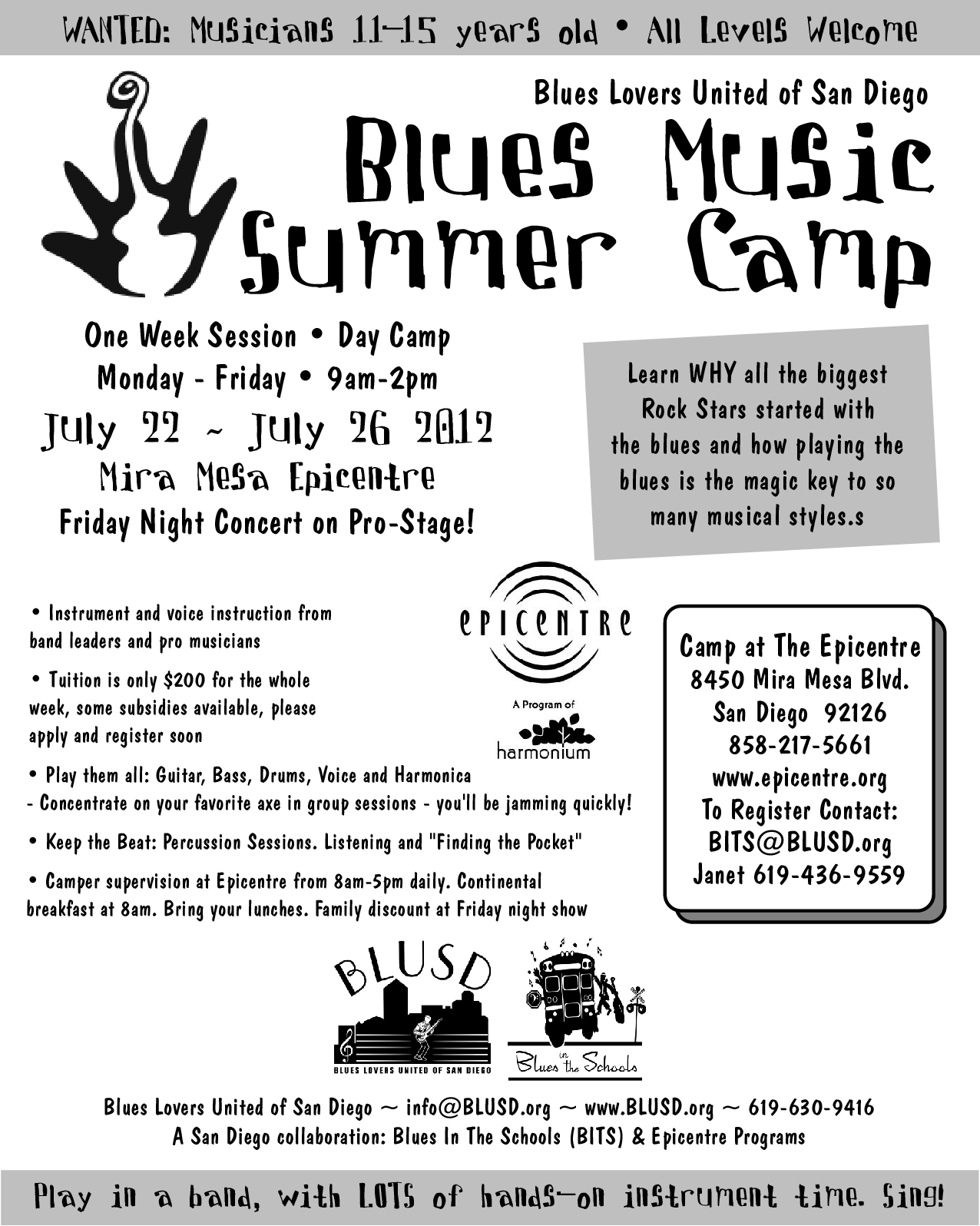 register for blues camp